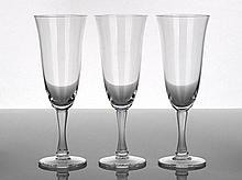 Lalique Barsac Pattern Stemware comprising eight