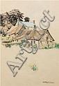 Emily Hilda Nicholas (1884-1961)  - Country Cottages, Hilda Rick Nicholas, Click for value