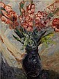 Georges Rogy (BELGIAN, 1897-1981) Vase and Flowers, Georges Rogy, Click for value
