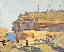 Herbert Edward Badham (1899-1961) The Gap at