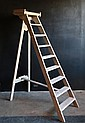 French Wooden Painters Ladder