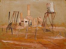 Clifton Pugh (1924-1990) Innamincka Hospital, 1963