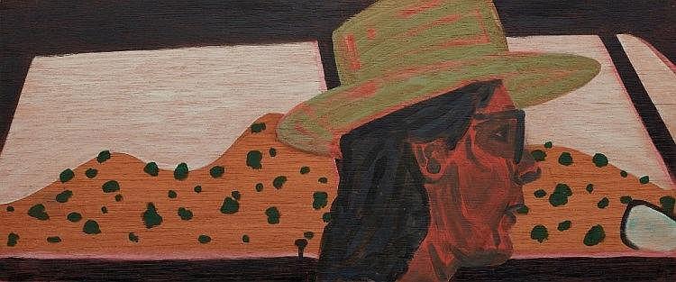 Jon Campbell (b. 1962) - Untitled Study, 1988