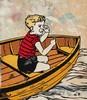 David Bromley (b. 1960) - Boy on a Boat, 2003, David Bromley, AUD400