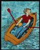 David Bromley (b. 1960) - Girl on a Boat, 2003, David Bromley, AUD400