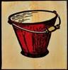 David Bromley (b. 1960) - Bucket, (Red), 2003, David Bromley, AUD400