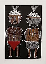 Maryanne Mungatopi (b.1966) - Malakaninga and Murrukupwarr