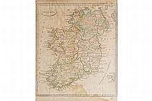 NINETEENTH-CENTURY MAP OF IRELAND