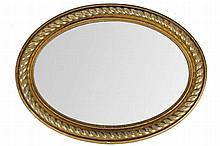 REGENCY PERIOD GILT FRAMED PIER MIRROR