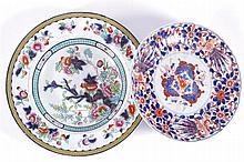 TWO NINETEENTH-CENTURY IRONSTONE PLATES