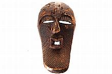 CONGOLESE TRIBAL MASK