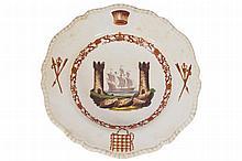NINETEENTH-CENTURY PLATE