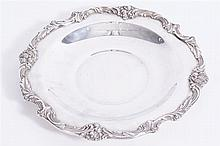 BARTON & REED SILVER PLATED PLATE