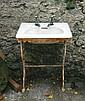 Nineteenth-century sink