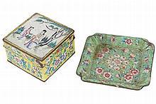 NINETEENTH-CENTURY CANTON BOX