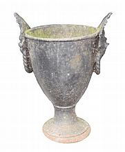Regency period cast iron jardiniere