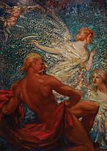 J. Milne Purvis Phoebus aroused by the hours,