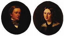 William Fisher, 1817 - 1895 Portrait of Percy