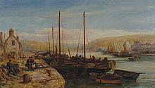 William Edward Webb, 1862 - 1903 Harbour scene,