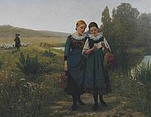 Walter Dendy Sadler, 1854 - 1923 The Love Note,