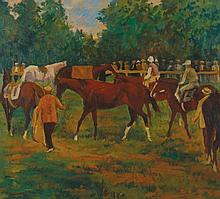 Otto Dill, 1884 - 1957 Die Parade Ring -