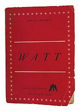 Samuel BECKETT Watt Paris: Olympia Press, 1953