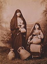 Nineteenth-century photographs, including