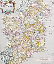 A map of the Kingdom of Ireland, taken from