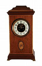 French mahogany 8 day table clock