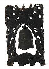Nineteenth-century Chinese bronze gong