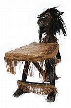 African fertility chair