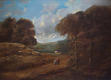 PAIR OF LANDSCAPES, NINETEENTH-CENTURY