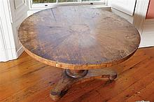 WILLIAM IV PERIOD MAHOGANY CENTRE TABLE