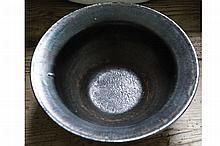 IRIDESCENT GLAZED FRUIT BOWL