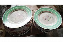 LOT OF 18 ASSORTED CHINA PLATES
