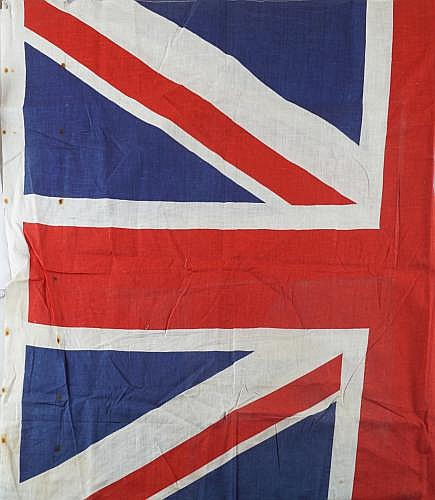 UNION FLAG, POSSIBLYREMOVED AS A TROPHY