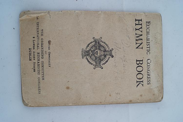 EUCHARISTIC CONGRESS HYMN BOOKDublin, 1931