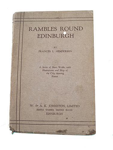 HENDERSON, FRANCES L., RAMBLES AROUND EDINBURGH