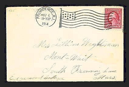 Philatelic - USA: 1912-1917 WASHINGTON-FRANKLIN ISSUES