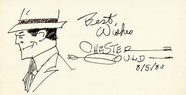 CHESTER GOULD (1900-1985). American cartoonist;