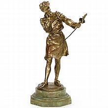 Henryk Kossowski Jr. (French, 1855-1921) Bronze Sculpture,