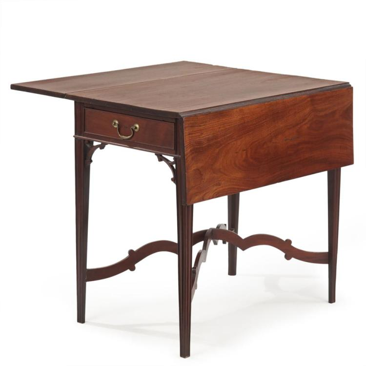 American Chippendale Mahogany Pembroke Table, Philadelphia, c. 1790