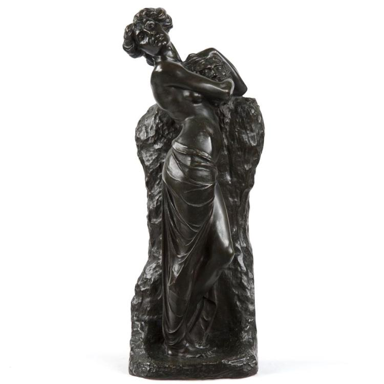 Philipp Modrow (German, 1882-1925) Bronze Sculpture of Salome