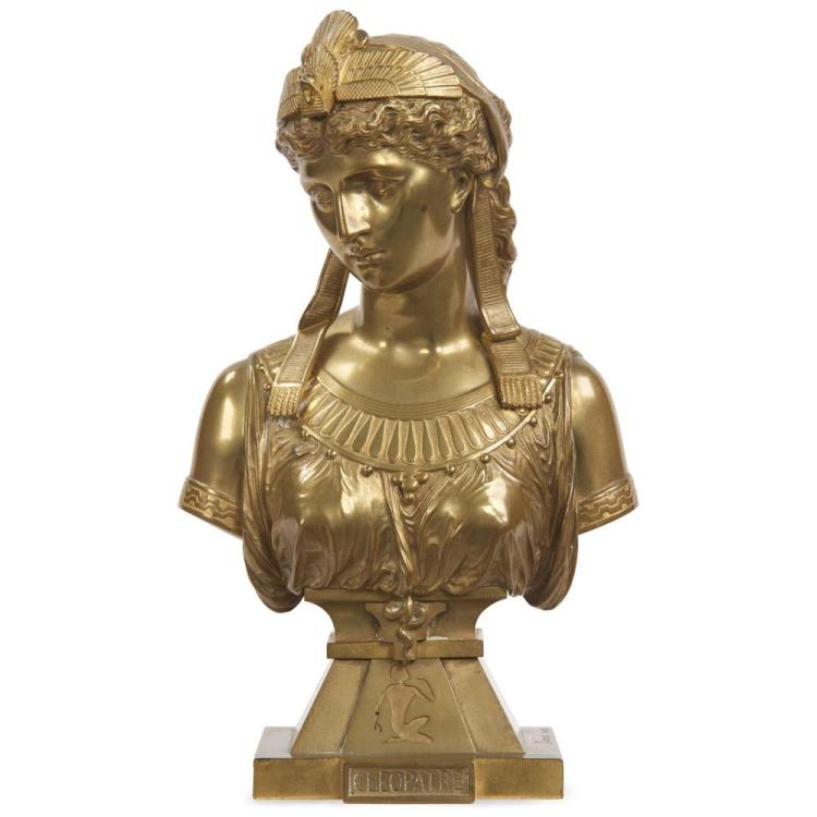 Eutrope Bouret (French, 1833-1906) Egyptian Revival Bronze