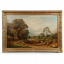 Frederick W. Hulme (English, 1816-84) Landscape Painting