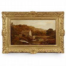 Robert Gallon (English, 1845-1925) Landscape Painting