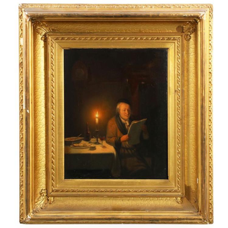 Pieter Gerardus Sjamaar (Dutch, 1819-1876) Painting