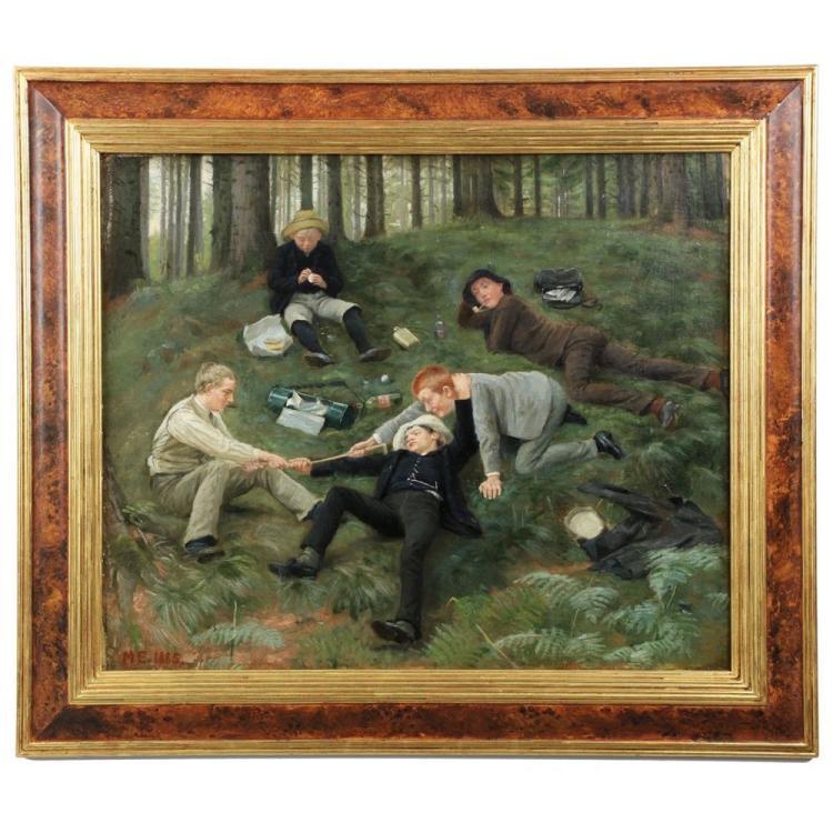 Malthe Odin Engelsted (Danish, 1852-1930)