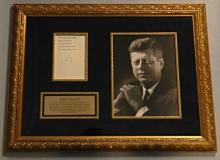 John F. Kennedy Collage - Signed