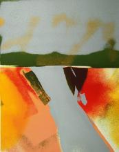 Flashback VII, Ltd Ed Silkscreen, John Chamberlain